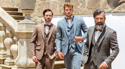 Tweed Suits at Leonard Silver