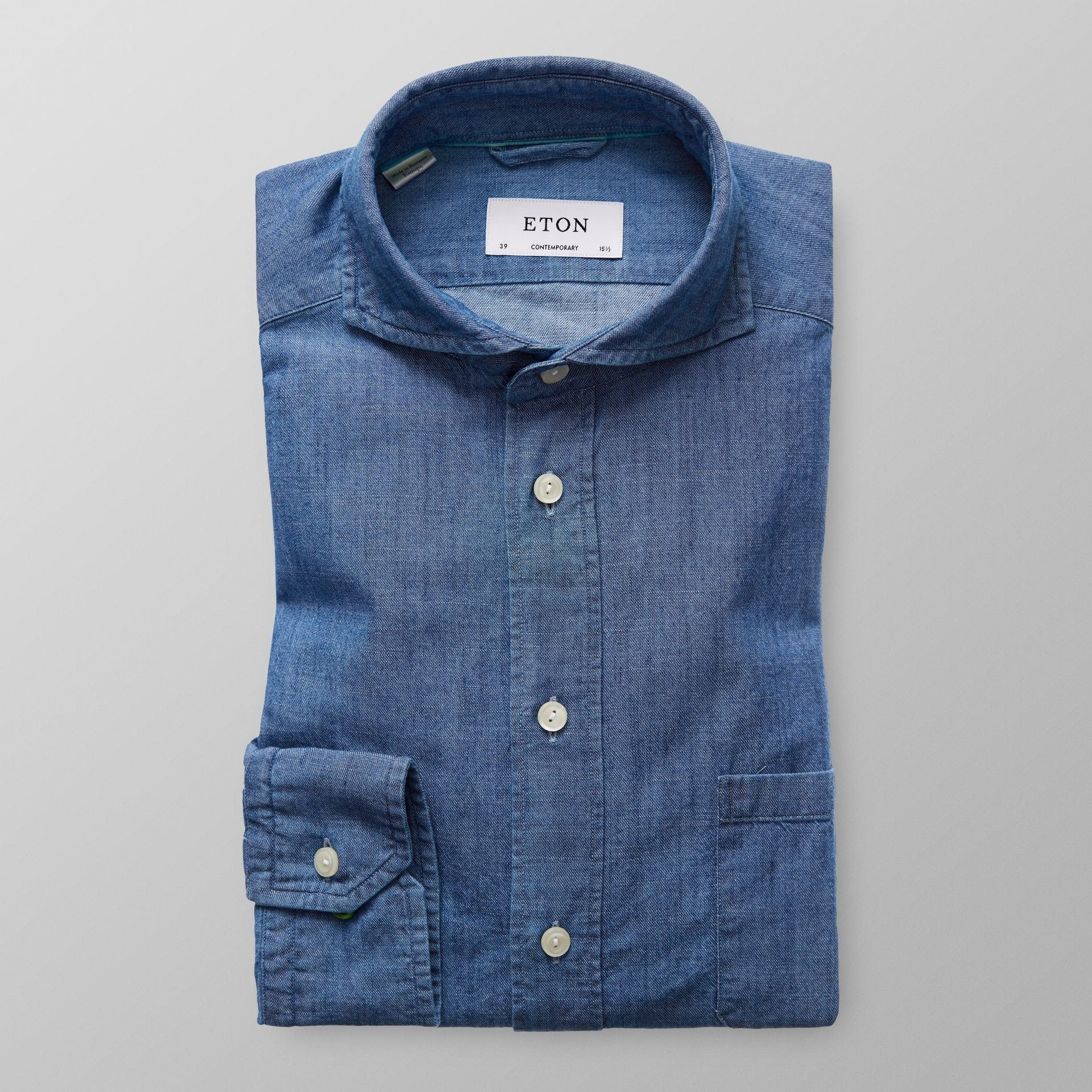 Eton denim shirt