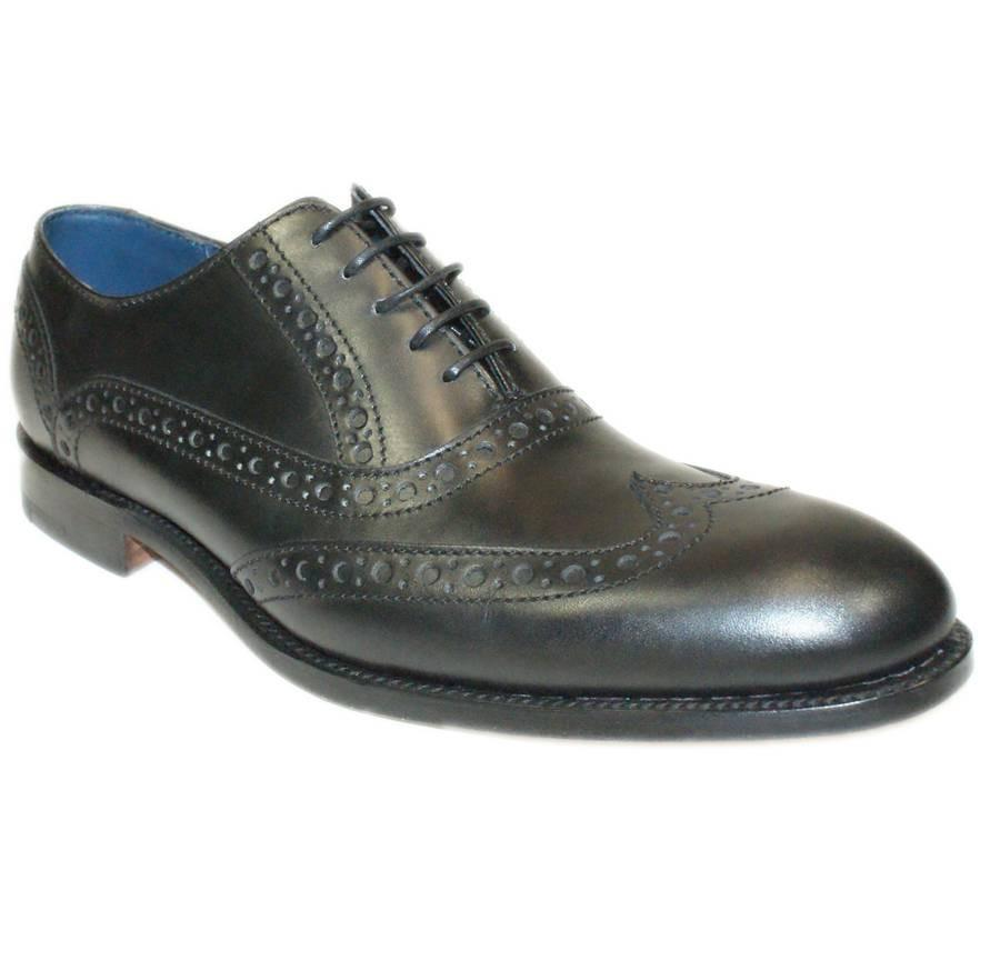 Grant Semi-Brogue, Black
