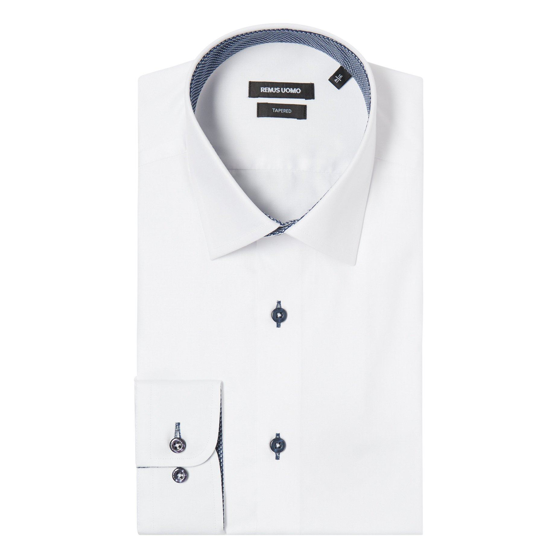 Parker Tapered fit Shirt - Leonard Silver