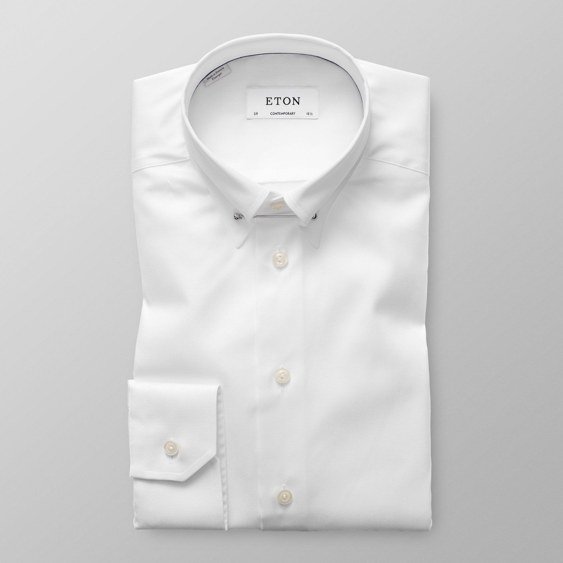 Eton white pin collar shirt