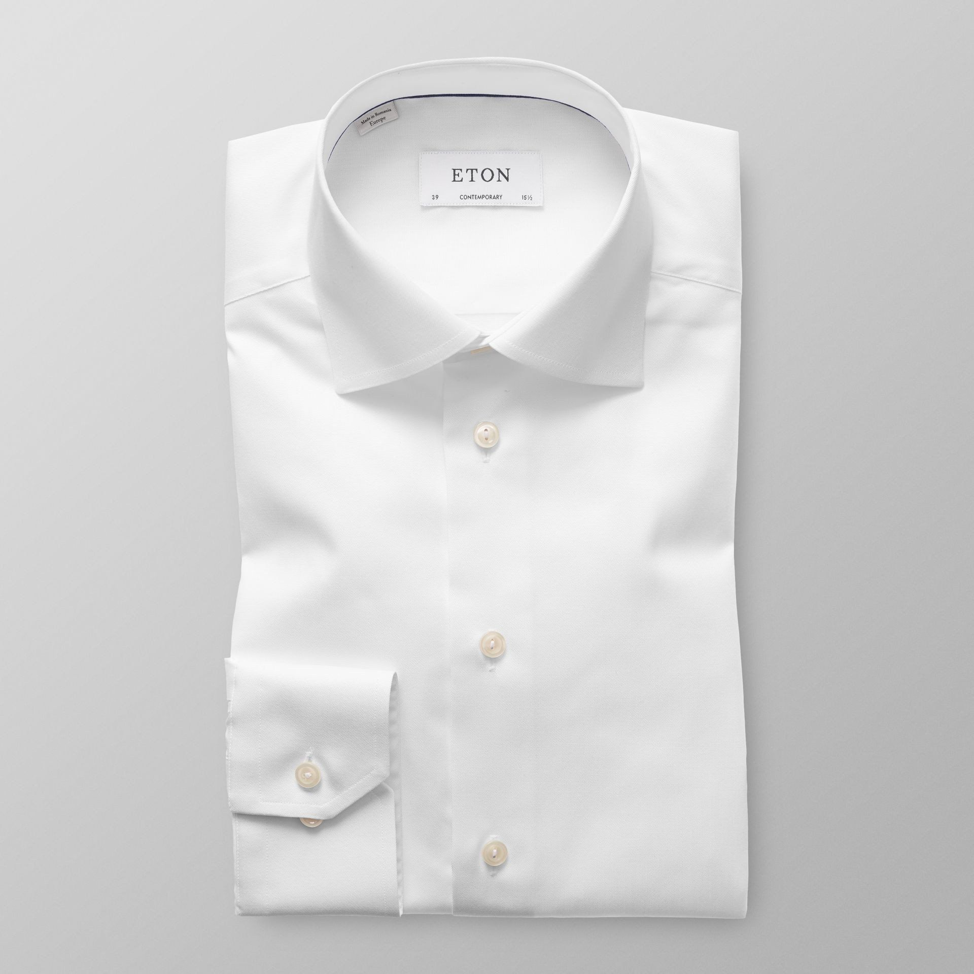 Contemporary Signature Twill Shirt - Leonard Silver