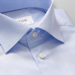 Eton sky french cuff shirt