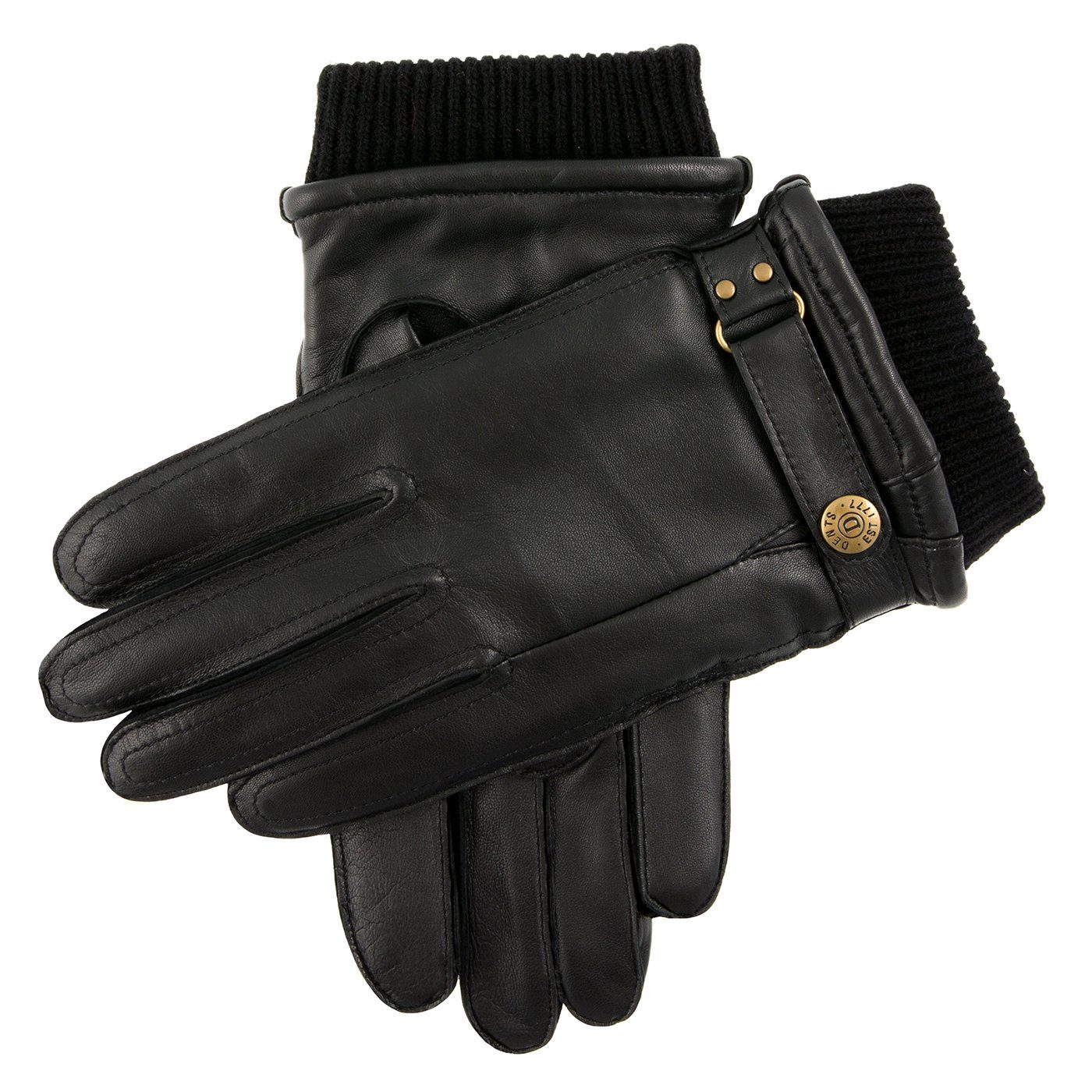 Warm Lined Leather Gloves