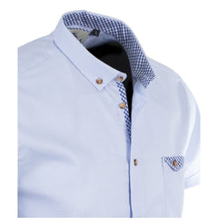 SKY Short Sleeve Oxford Shirt