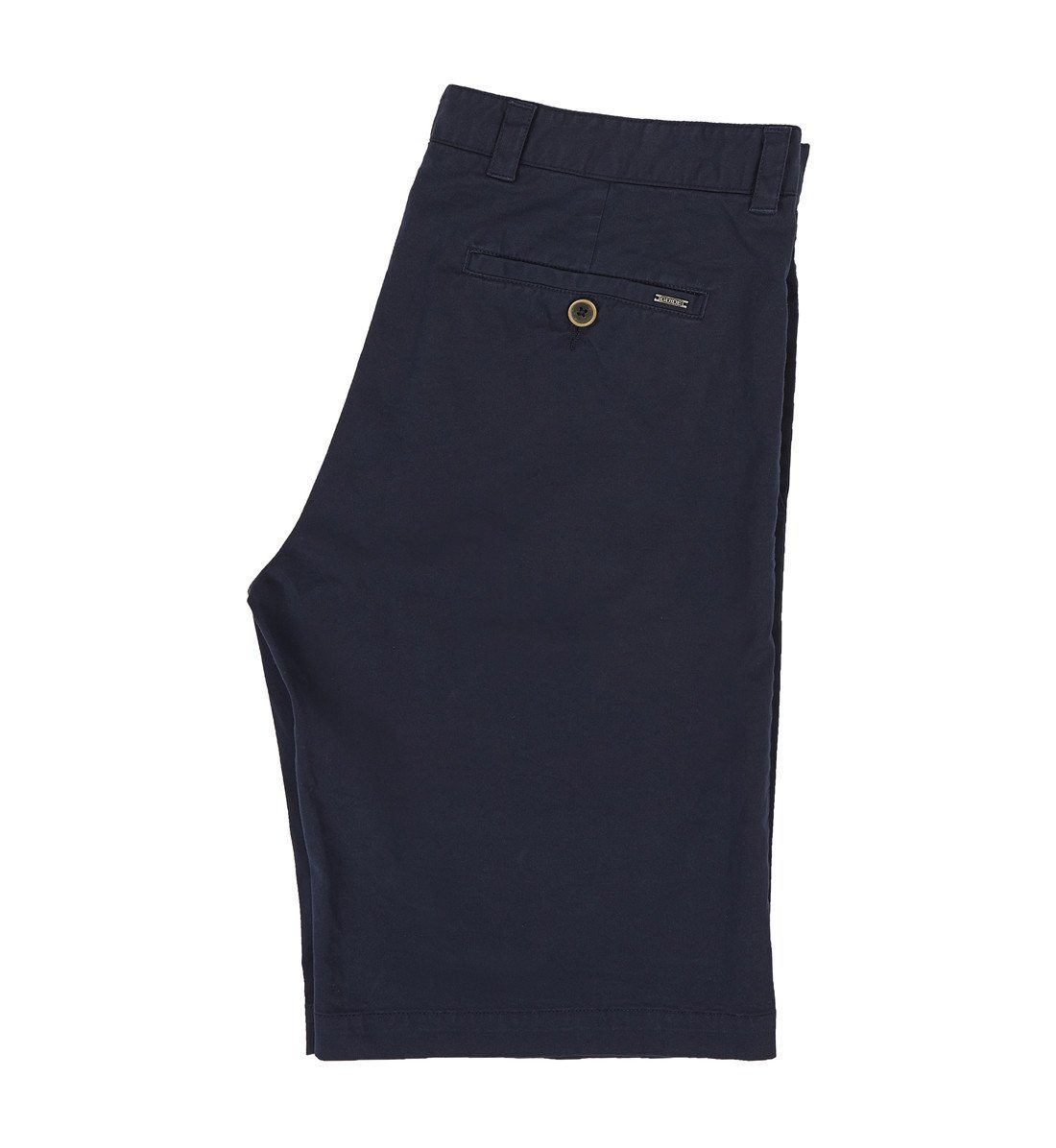 GUIDE NAVY Classic men's chino shorts - Leonard Silver