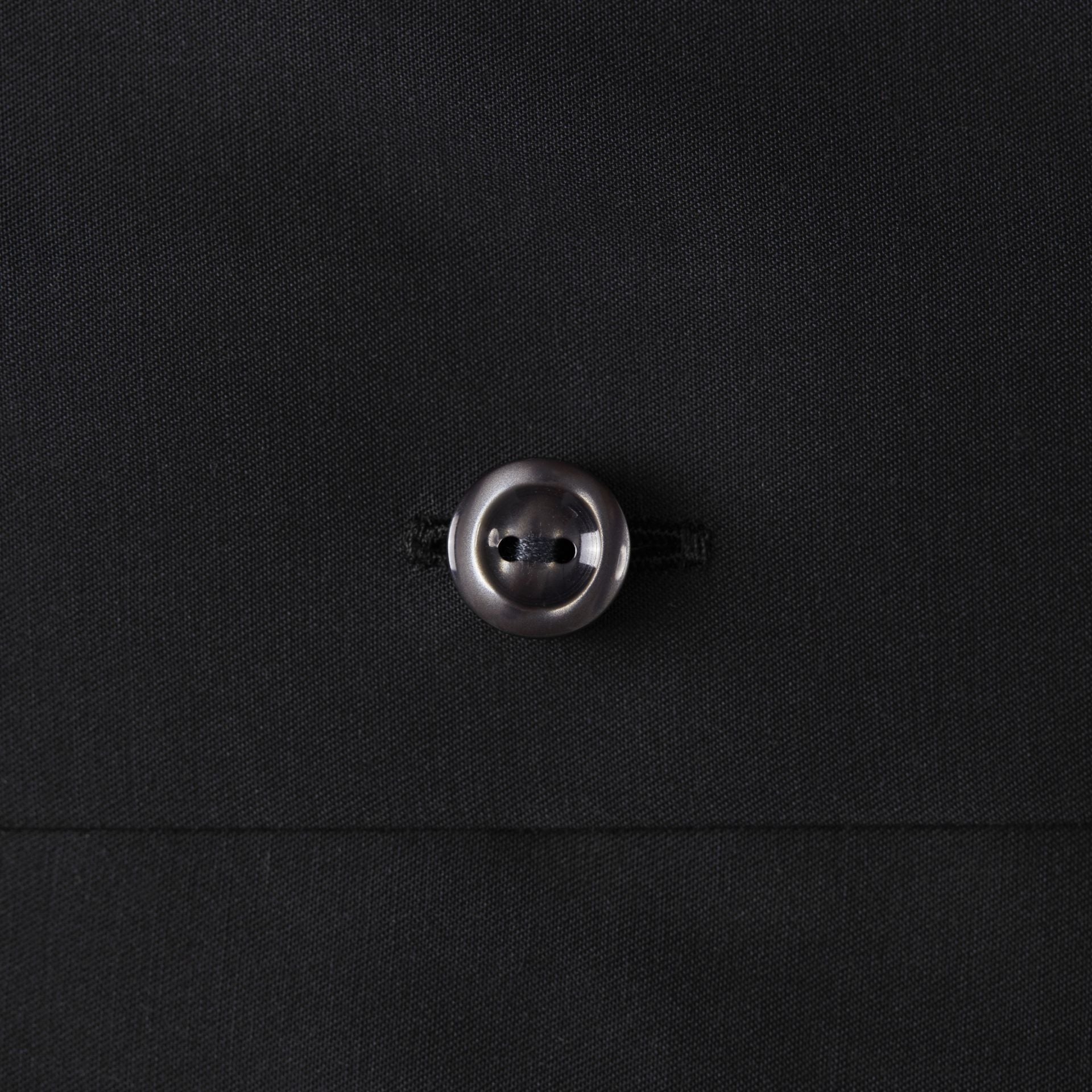 Black Pointed Collar Shirt - Leonard Silver