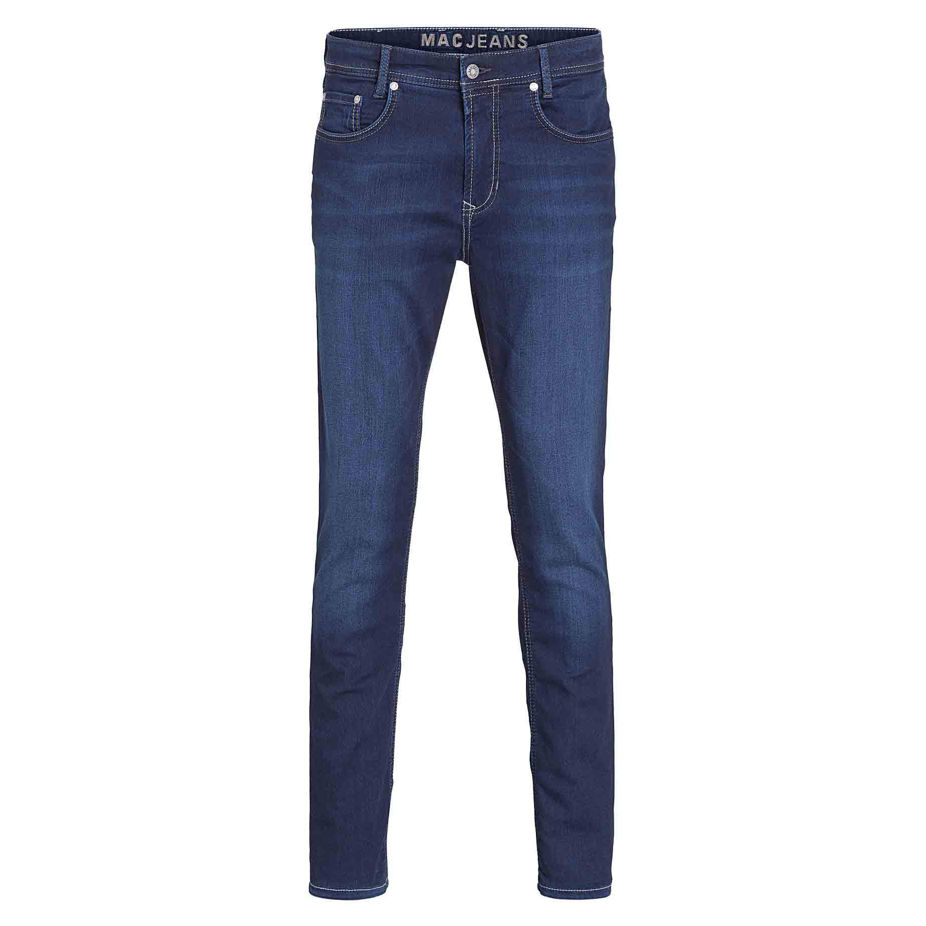 Mac Jeans Jog N Jeans Sweat Denim - Leonard Silver