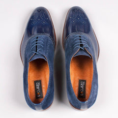 Lacuzzo Patent Leather Derby