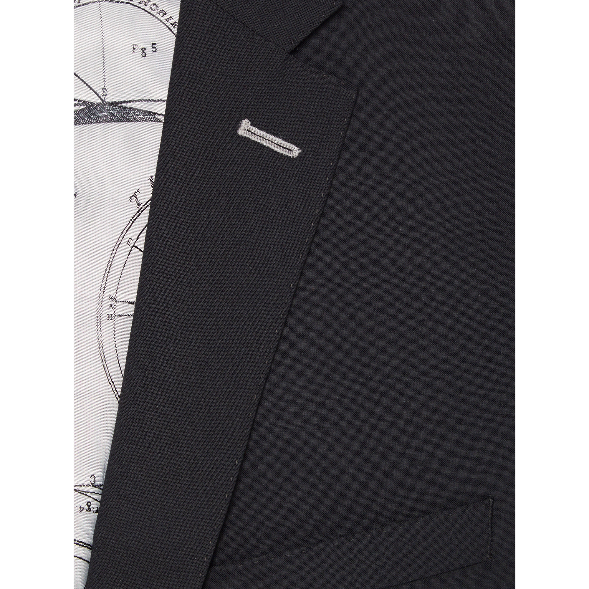 Remus Slim Fit Suit, Black - Leonard Silver