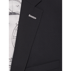 Slim Fit Trouser Black