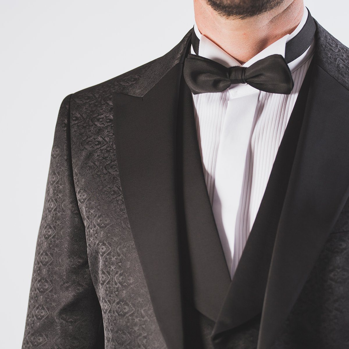 James Black Tuxedo Suit