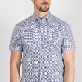 Short Sleeved Blue Shirt