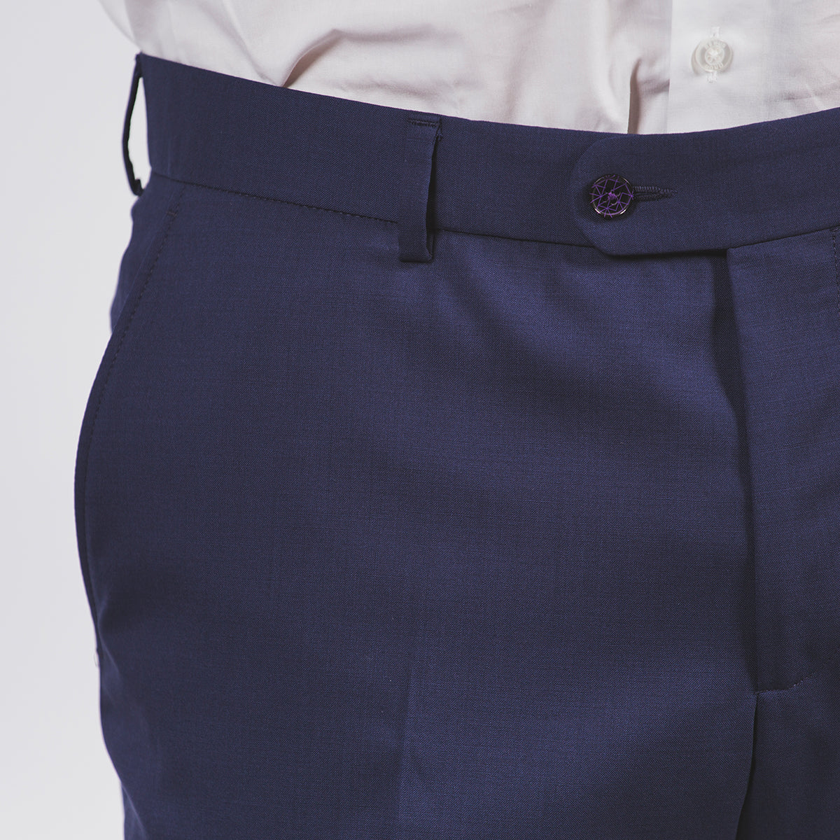 Herbert Suit Trousers Blue