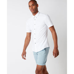 Dino Short Sleeve Shirt White