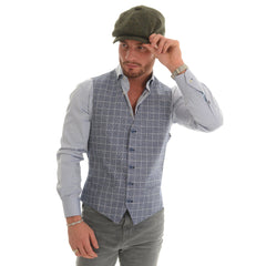 Florence Check Waistcoat