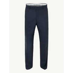 Regular Fit Navy Suit Trousers