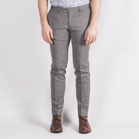 Slim Fit Grey Trouser