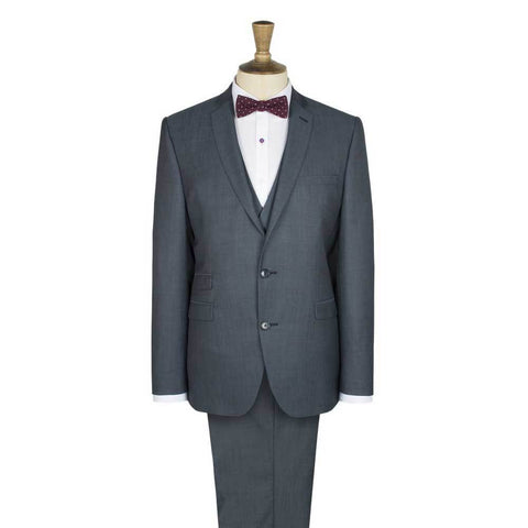 Gibson London Slim Fit Slate Blue Suit