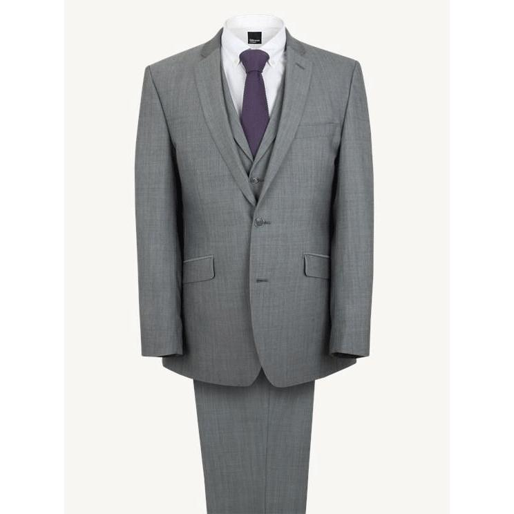 gibson grey suit at leonard silver