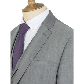 Gibson Regular Fit Grey Suit - Leonard Silver