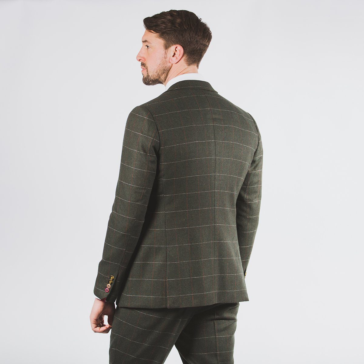 Harold Green Tweed Suit