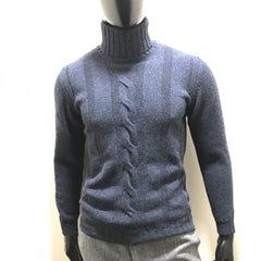 Chunky Roll Neck Sweater