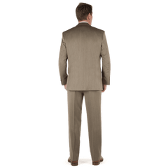 label taupe suit