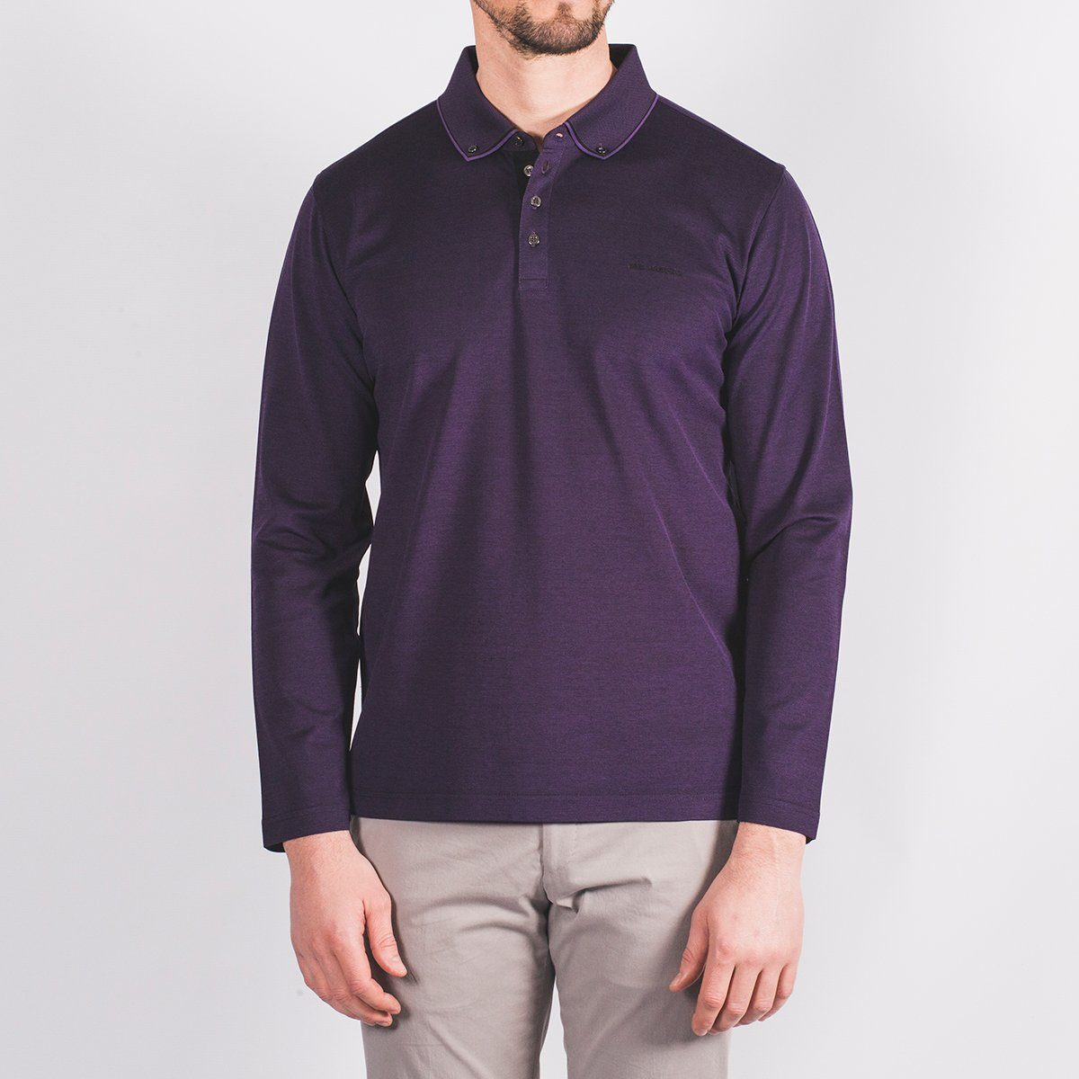Pique Long Sleeve Polo