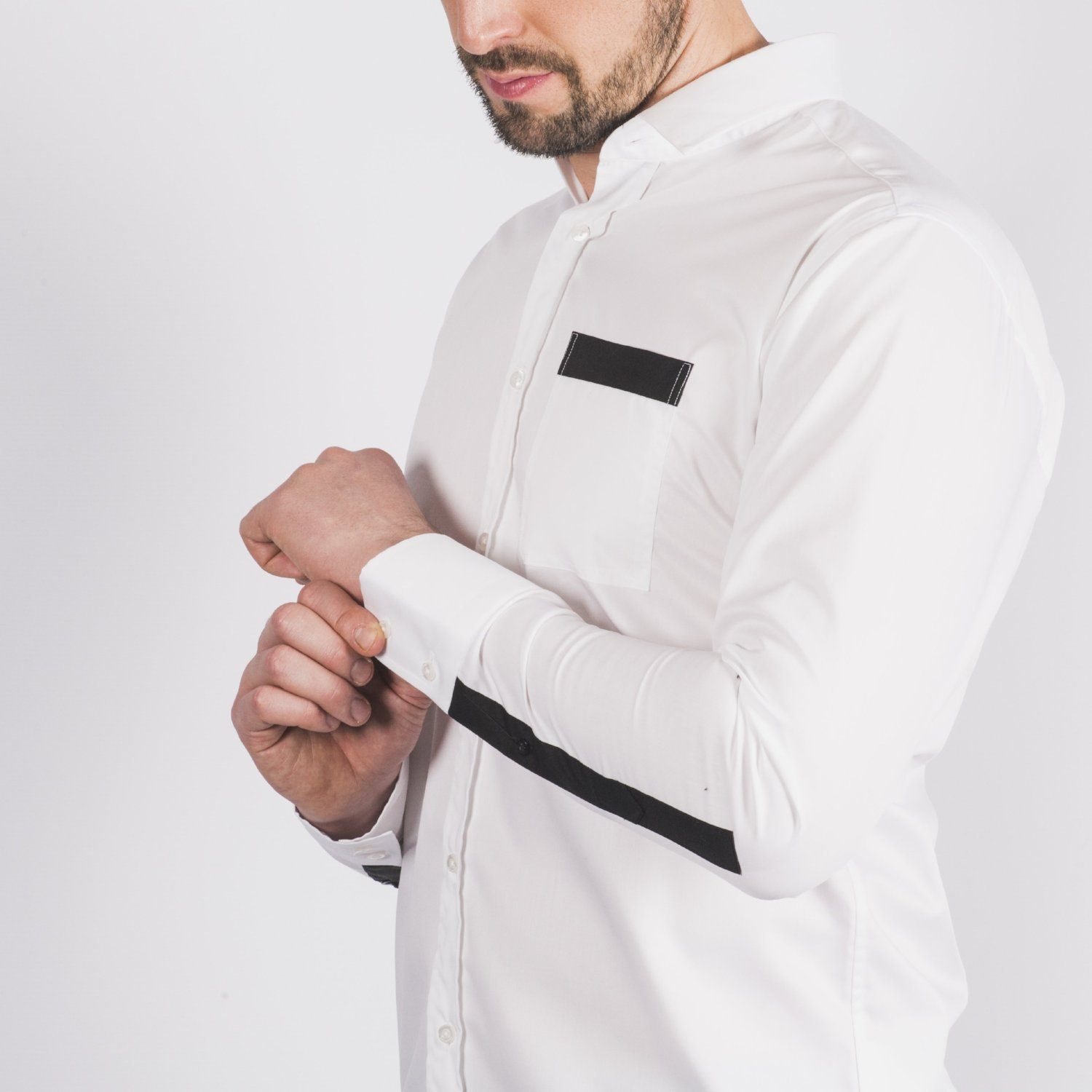 White Long Sleeved Shirt