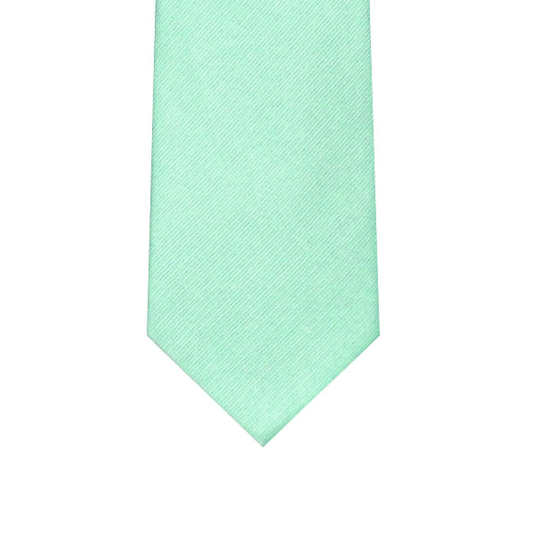 Silk Light Green Tie