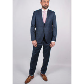 Barberis Wool Suit - Leonard Silver