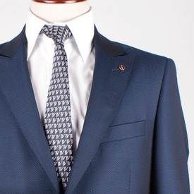 Florentino 2 Piece Suit Royal Blue - Leonard Silver