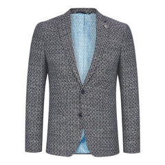 Seersucker Cotton Linen Jacket