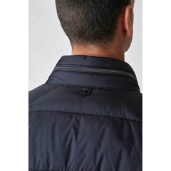 Padded Technical Jacket Navy
