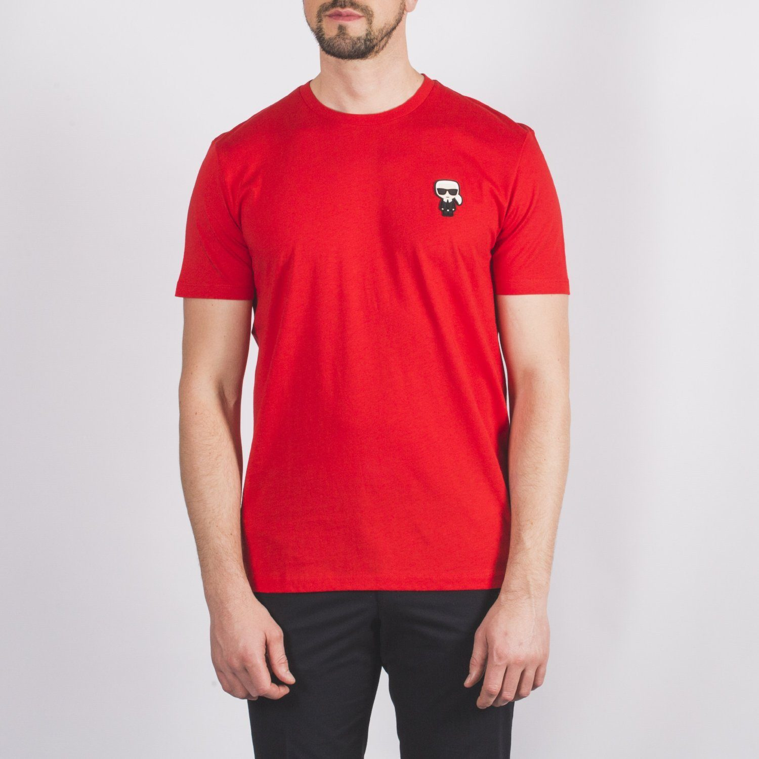 Red Crew Neck T-Shirt