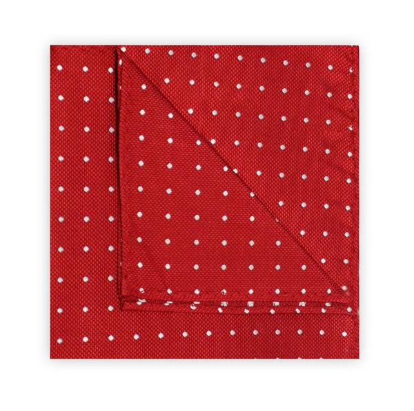 Red Dotted Square