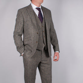 Donegal Tweed Suit - Leonard Silver