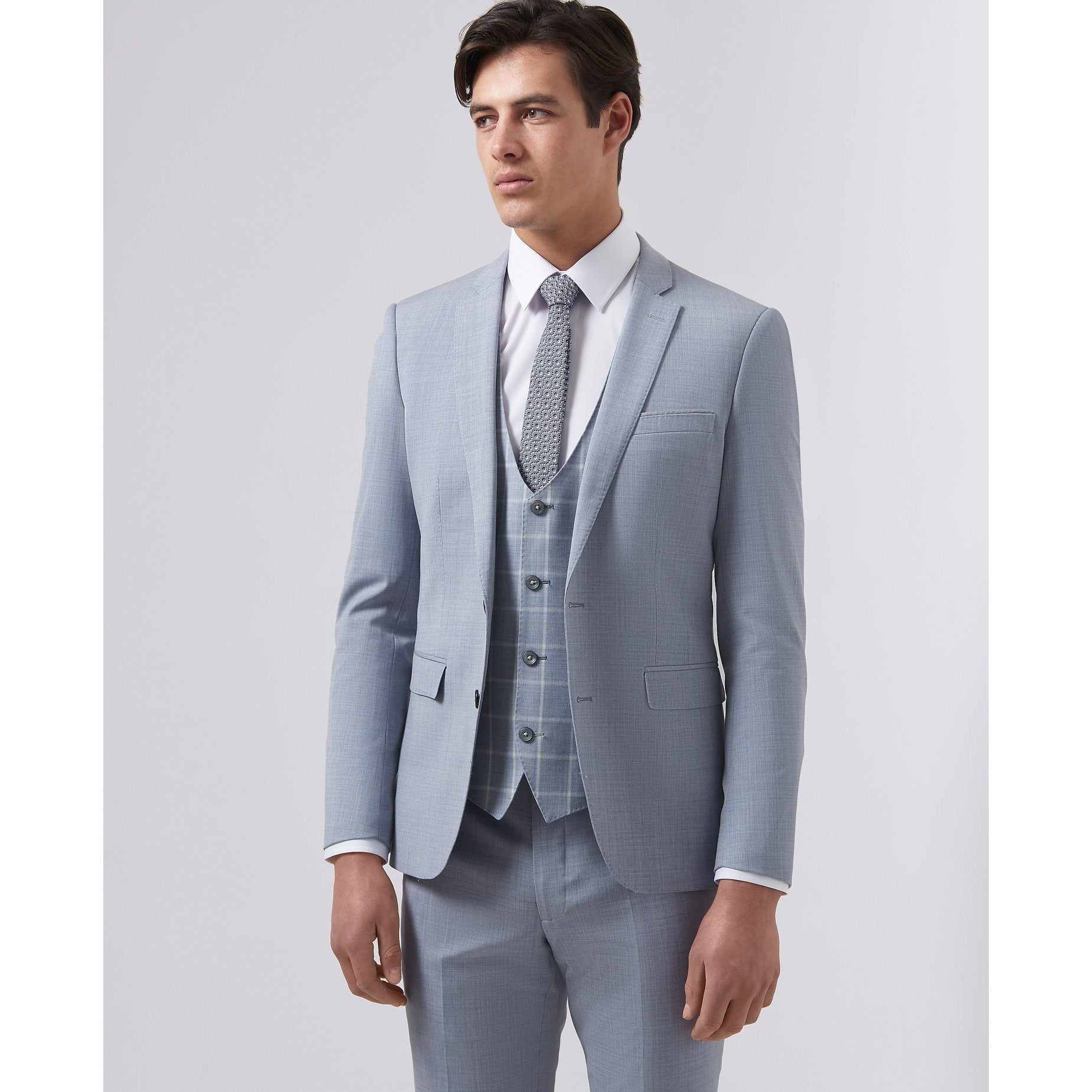 Sky Wedding Suit