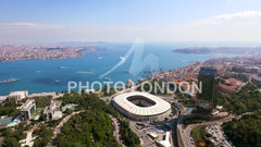 New Istanbul Skyline Aerial View