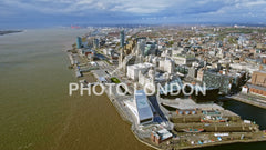 Aerial View Of New Liverpool Cityscape