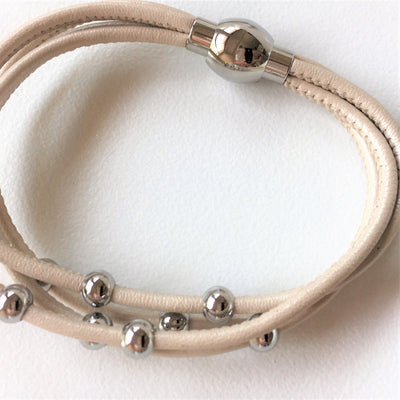 Nappa Leather Bracelet every day wear