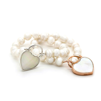 Pearl Bracelet and padlock