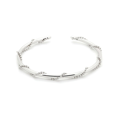 edgy silver statement cuff ....Page