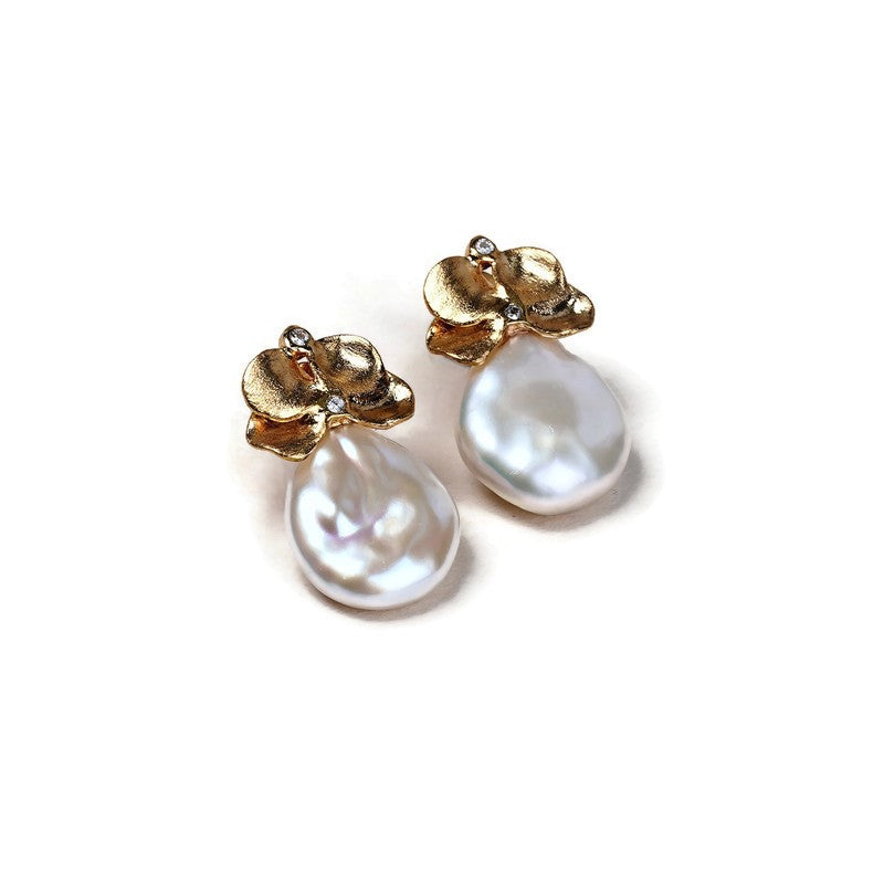 Baroque Freshwater Pearl Earrings
