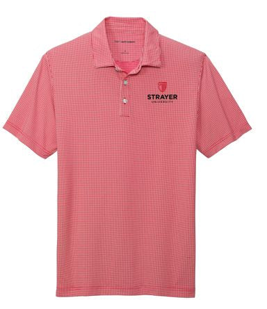 Port Authority ® Gingham Polo-Rich Red/ White