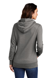Port & Company ® Ladies Core Fleece Pullover Hooded Sweatshirt-Graphite Heather
