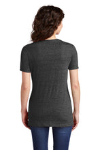 JERZEES ® Ladies Snow Heather Jersey V-Neck T-Shirt-BLACK INK