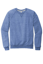 JERZEES ® Snow Heather French Terry Raglan Crew-ROYAL