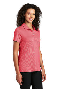 Port Authority ® Ladies Gingham Polo-Rich Red/ White
